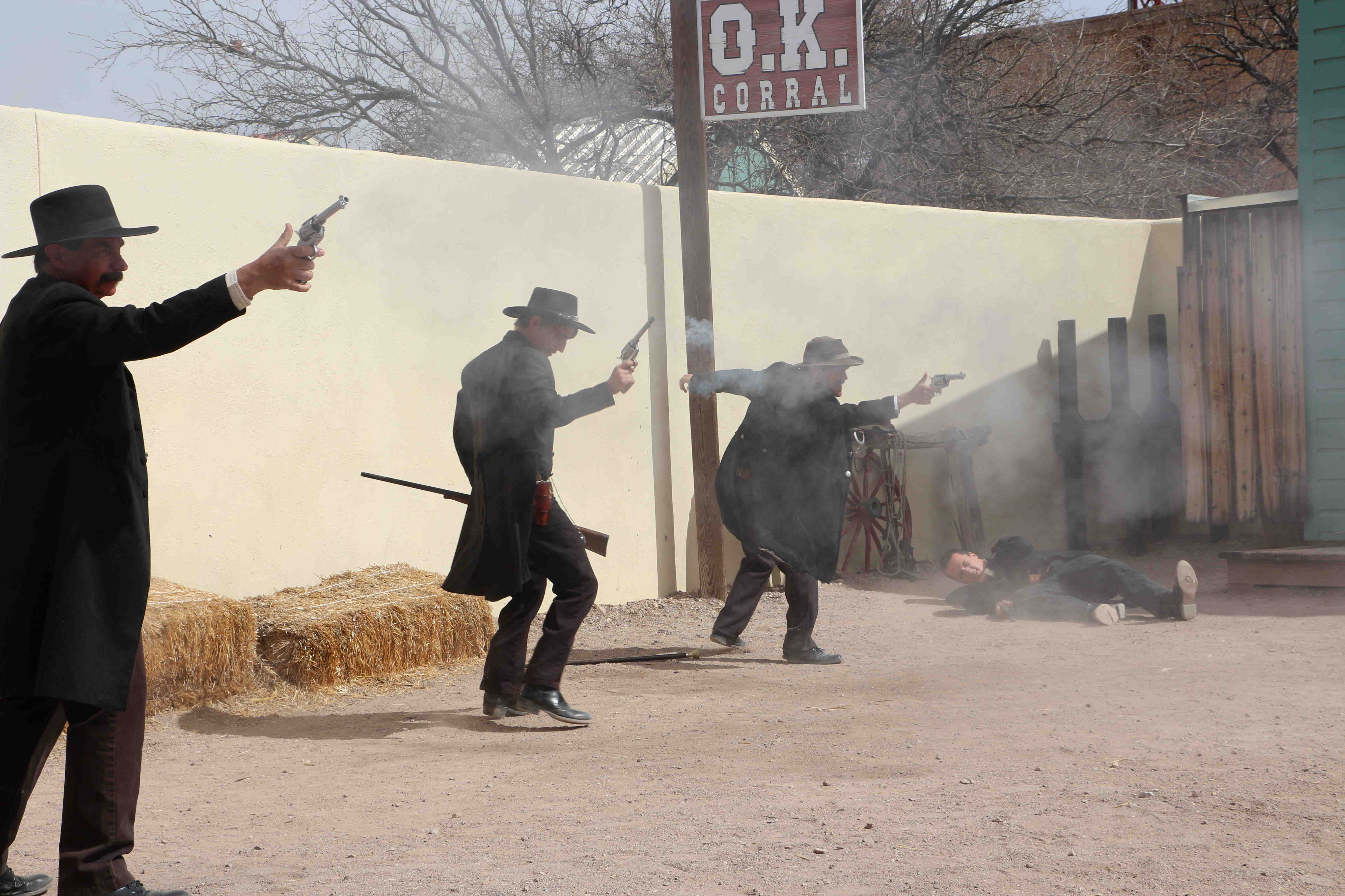 O K  Corral Gunfight Site, Tombstone AZ: History